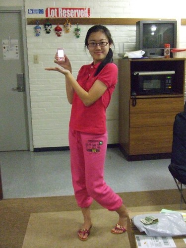 Xiao Ke Ai, even her phone is pink