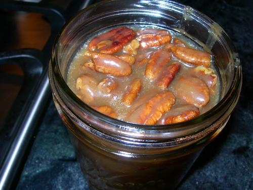 Caramel Sauce with Pecans