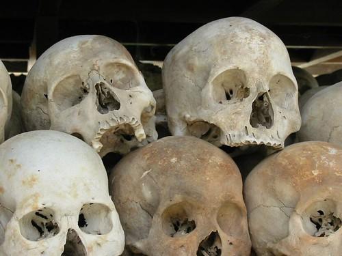 Gruwelijke schedels