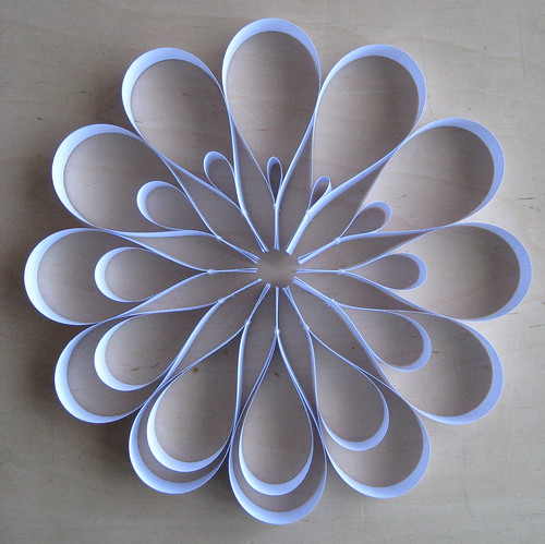 petals / paper visualization