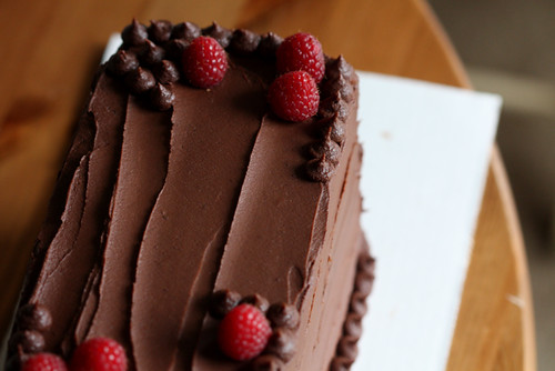 Double Chocolate Devil's Food Cake