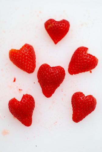 I <3 strawberries.