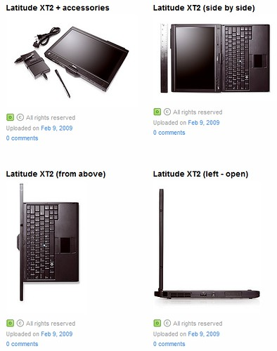 Dell Latitude XT2: First convertible tablet PC with multi-touch screen capabilities