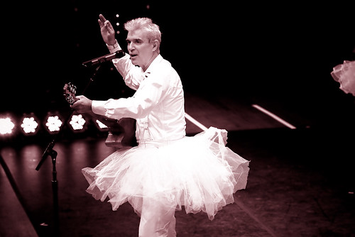 david byrne at benaroya hall