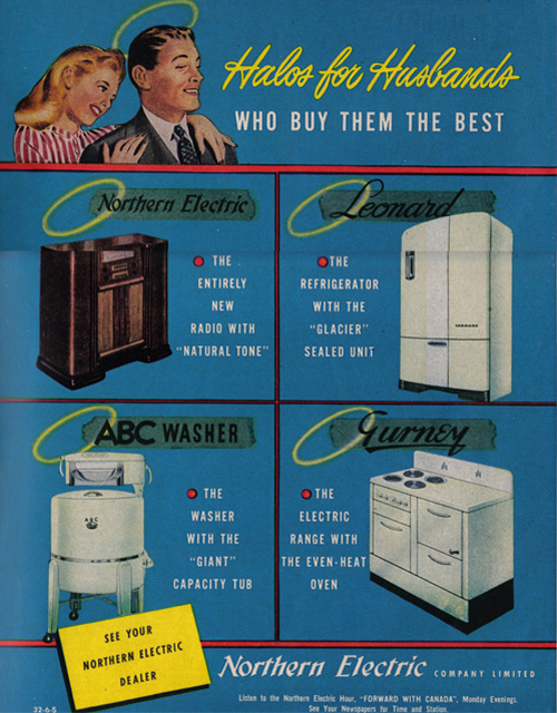 Vintage Ad #740: Halos for Husbands