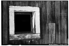 Old Barn Window (f1design) Tags: blackandwhite bw ontario abandoned window barn blackwhite farm rustic barns frame weathered farms weatheredwood oldbarn barnboard f1design