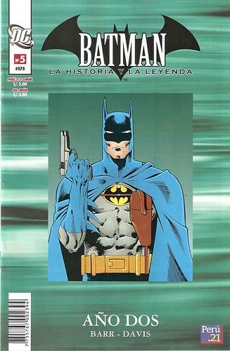 Portada Batman Año 2 Peru21