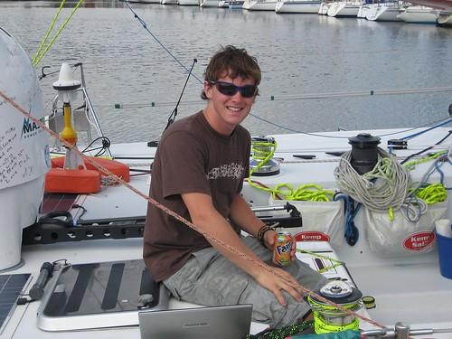 Mike solo sailor