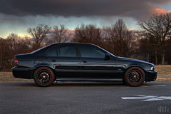 e39 540i/6 lowered on b&g springs (dkfx photography) Tags: black bmw lm bbs m5 lowered dropped bg ddm 540 5series 540i e39 timeattack 540i6 dkfx eurodyne fauxm5 bgsprings dkfxphotography