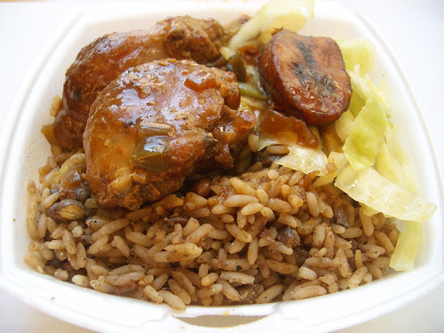 Stewed Chicken @ Golden Krust