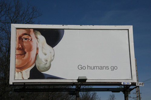 Go Humans Go Billboard