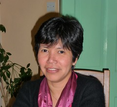 Susan Cueva, A founder of the Campaign for Human Rights in the Philippines (CHRP) (Amnesty International UK) Tags: solidarity amnestyinternational tradeunions 30yearsunionsolidarity