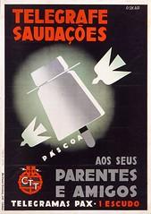 Páscoa (Fundação Portuguesa das Comunicações) Tags: portugal oskar páscoa 1939 cartazes fpc ctt fundaçãoportuguesadascomunicações