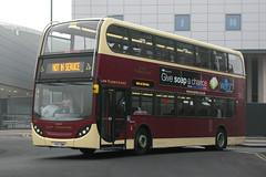 EYMS 726 YX57BWH (Howard_Pulling) Tags: uk bus buses alexander hull adl eastyorkshire notinservice enviro400 eyms volvob9tl hullinterchange