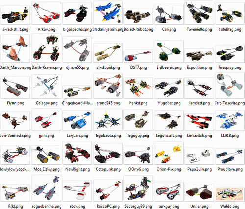 That's a lot of pod racers
