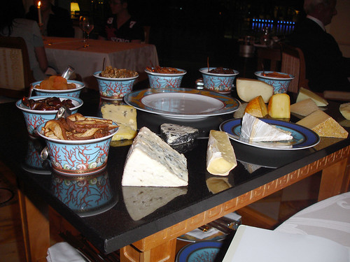 Table of cheese