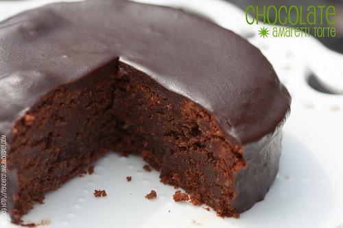 TENDER CRUMB: 15 Minute Magic: Chocolate Amaretti Torte (TWD)