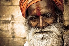 The Pilgrim (Anirudh..) Tags: old portrait nature smile canon hair 350d rebel xt sadness is high thought expression candid details class retro age turban 1855 marijuana jaisalmer pilgrim rajasthan trevel agarwal wisedom anirudh explored anirudhagarwal