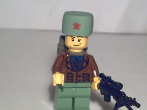 russian trooper custom minifig