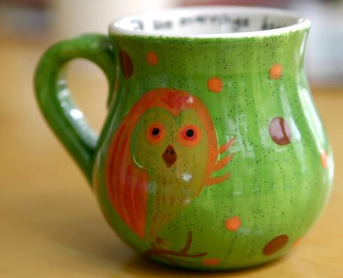 owlish mug
