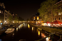 Amsterdam Red-Light District at Night - 2