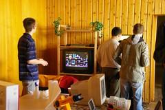 HomeCon - Telespiel und Mame Arcade Maschine (amigaones) Tags: amiga atari mame schneider neogeo homecomputer telespiel heimcomputer homecon