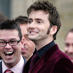 David Tennant at Billie Piper's wedding thumbnail