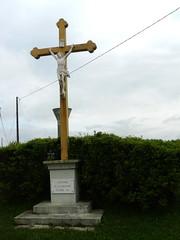 Bélus (40), croix d'un croisement. (Marie-Hélène Cingal) Tags: france southwest 40 landes sudouest aquitaine paysdorthe bélus yourcountry