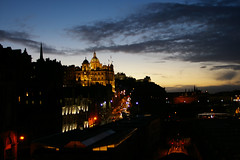 Edinburgh at night from The Bridges (alan_t_cumming) Tags: night edinburgh bridges the colorsofthenight