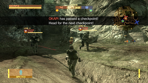 Metal Gear Online – Race Mission 3