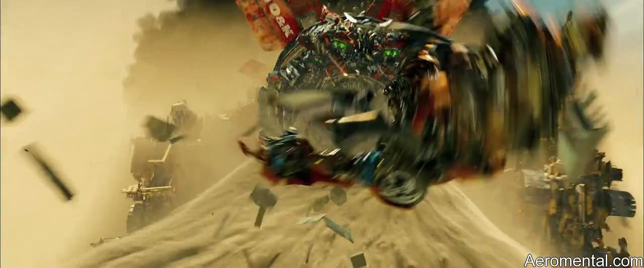 Transformers 2 Devastator poder