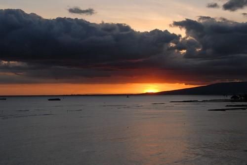 Sunset, Waikiki