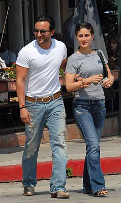 Photo of Saif Ali Khan and Kareena Kapoor
