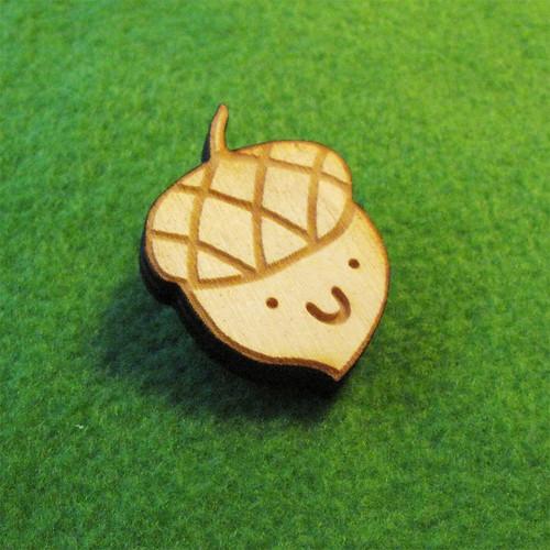 Acorn Pin.