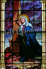Sorrowful Mother Mary (*Jeff*) Tags: church window catholic stainedglass northdakota marymagdalene