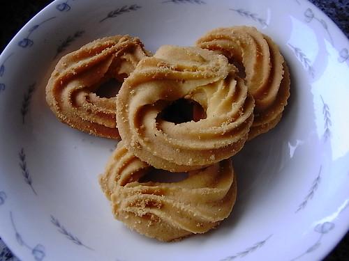 好看的奶油饼干