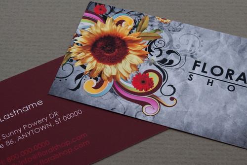 Floral Shop Business Card