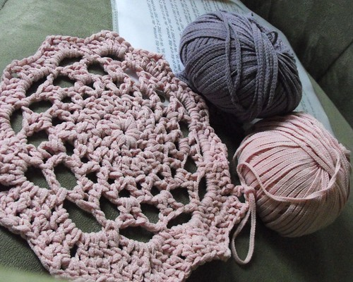 Around the Rosy Blanket WIP