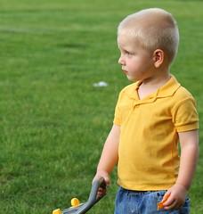 IMG_0538 (Tina  **~) Tags: boy grass yellow yard fun happy little jeans bubble blower dalto