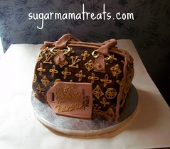 Louis Vuitton Speedy Cutie (Sugar Mama NYC) Tags: nyc paris leather cake bag louis michelle mama sugar satchel vuitton sculpted fondant tiered duquesnay sugarmamanyccom