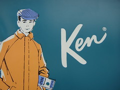 Ken (trashleycan) Tags: blue usa doll day ken barbie melrose hollywood fairfax fleamarket kendoll vintagebarbie melrosetradingpost barbiecase