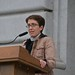 Rev. Elizabeth Welch at the Vigil for Dr George Tiller at San Francisco City Hall
