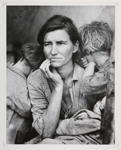 Migrant Mother, Nipomo, California (National Media Museum, UK)