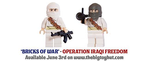 Bricks Of War - Desert Insurgents custom minifigs (Operation Iraqi Freedom)