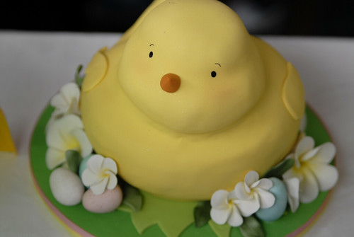 An Easter cake from Charm City Cakes
