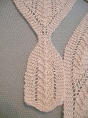 Clementine Shawlette - Tie