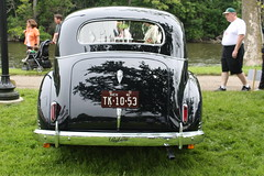 1941 Packard 110 Six 2 door coach (carphoto) Tags: ypsilanti orphancarshow2009 richardspiegelmancarphoto 1941packard110six2doorcoach