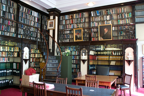 photo image of Nova Scotia Legislative Library, Province House, Halifax