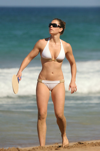 Jessica Biel - Flat Stomach Workout Results by mewall82