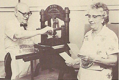 Herschel & Anne Logan (typesticker) Tags: shop studio print iron hand handmade books cast printing lettering lette